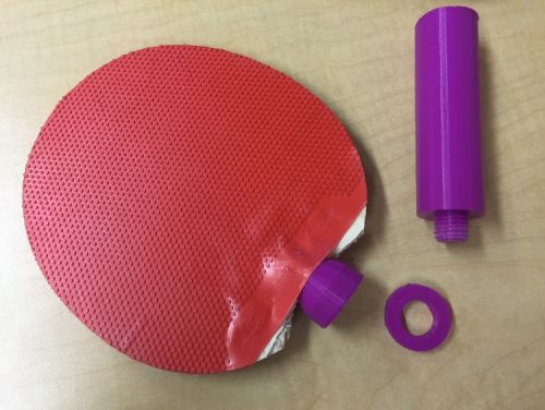3D Printable Ping Pong Paddle