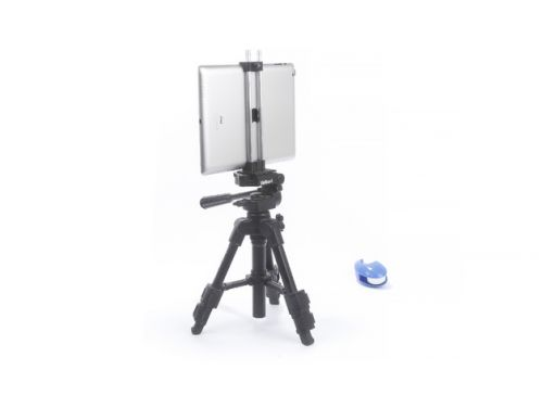 Clamp for iPad 4 on a tripod