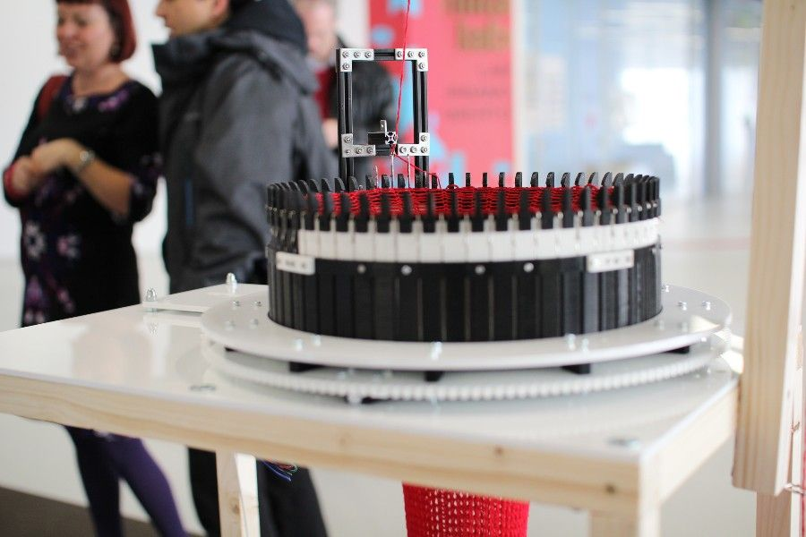 Circular Knitic - Open Hardware Knitting Machine