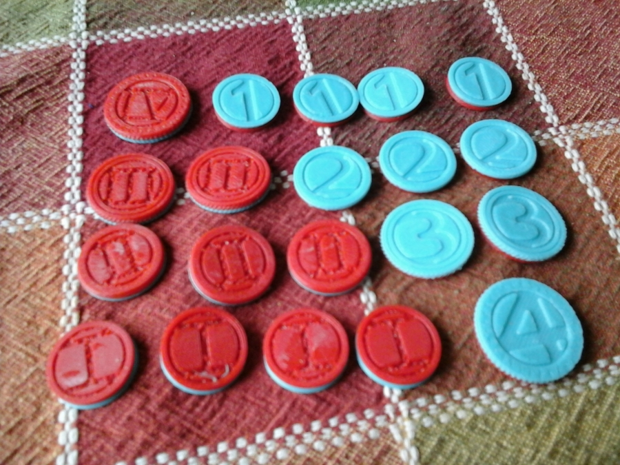 3D Printed Coin Tokens