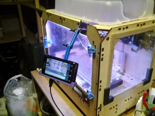 Android Phone Arm for Replicator 1