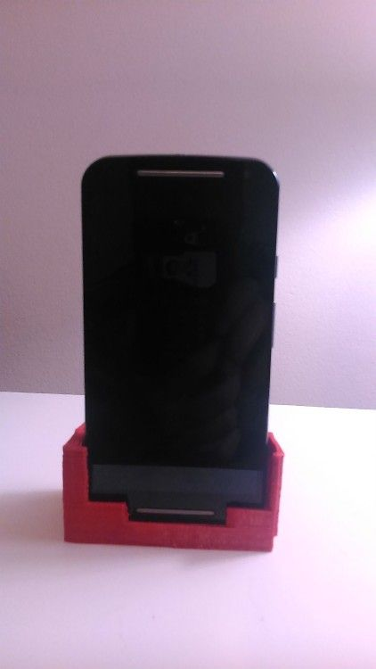 Moto G2 Dock and Cover