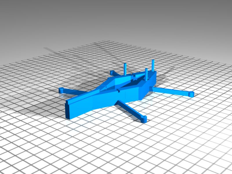 3D printable aircraft model