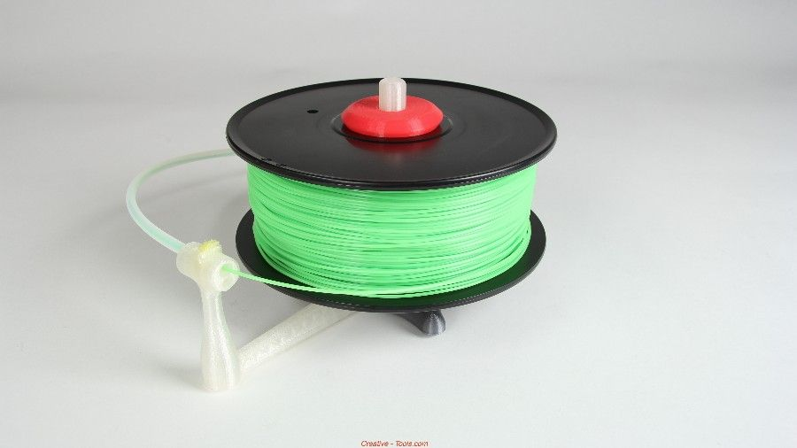 Universal stand-alone filament spool holder